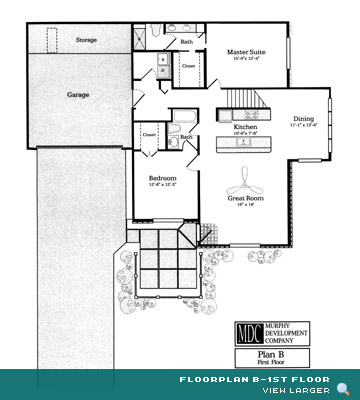 Floor Plan B-1st Floor Asherton Grove Luxury Condominium
