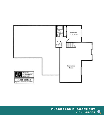 Floor Plan B-Basement Asherton Grove Luxury Condominium