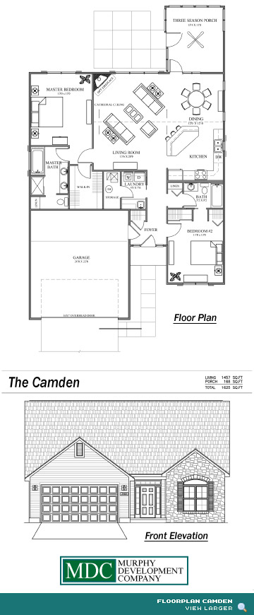 Floor Plan Camden Asherton Grove Luxury Condominium