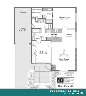 Floor Plan DS-New Asherton Grove Luxury Condominium