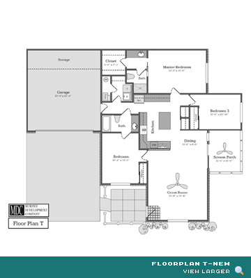 Floor Plan T-New Asherton Grove Luxury Condominium